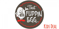FRI & SAT: That Flippin Egg Kids Meal